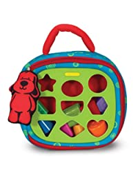 Melissa & Doug K's Kids Take-Along Shape Sorter Baby Toy With 2-Sided Activity Bag and 9 Textured Shape Blocks BOBEBE Online Baby Store From New York to Miami and Los Angeles