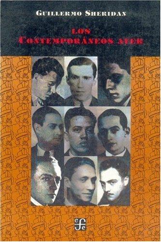Read Online Los Contemporáneos ayer (Literatura) (Spanish Edition) PDF