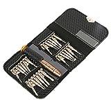 yueton Screwdriver 25 in 1 Multi-purpose Repair Opening Tool Kit Penta Lobe Torx Phillips Screwdriver for Cell Phone , Mobile Phone, Iphone 5, 4, 4s, Samsung, Htc, Nokia, Laptop , Macbook , Tablet ,