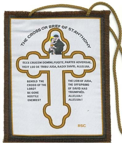 Amazon Cross Or Brief Of St Anthony For The Home Everything