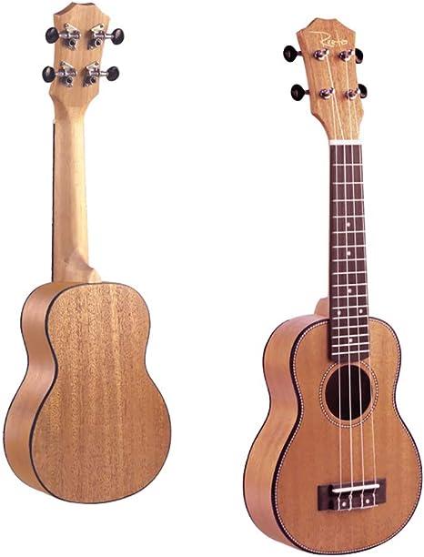 NUYI 21 Pulgadas Ukulele Caoba 4 Cuerdas Guitarra Pequeña RT-21C ...