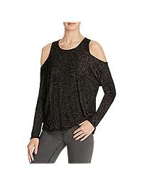Velvet Womens Knit Textured Casual Top