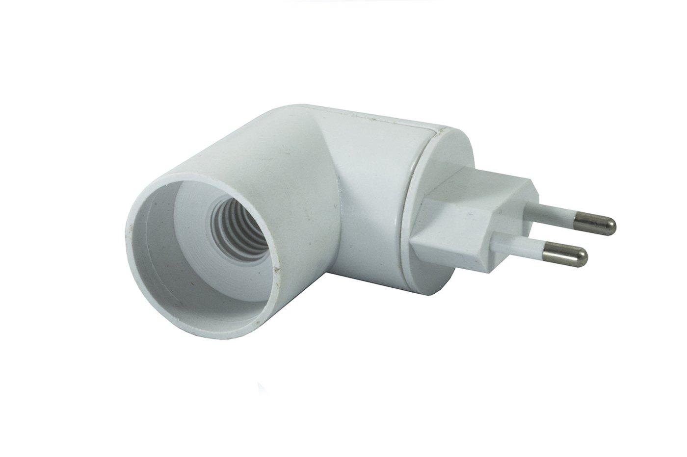 Fassung E14/mit Stecker drehbar Schalter ON OFF Adapter Lampenfassung