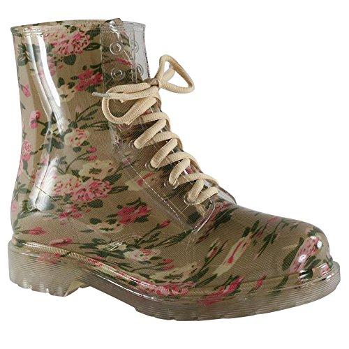 clear rain boots women - 7