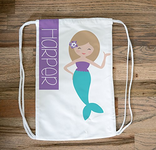 Personalized Mermaid Beach Bag for Kids, Personalized Drawstring Bag Pack for Girls, Mermaid Bag, Kids Swim Bag and Pool Bag, Personalized Beach Bag for Kids, Cinch Bag and Beach Bag - Shopping Goggles Men For Online