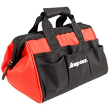 Snap-On 870421 24 Pocket Wide Mouth Tool Bag, 12-Inch