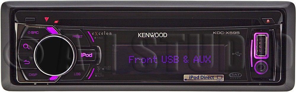 amazon com kenwood excelon kdc x595 cd receiver car electronics
