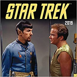 Tv Series Calendar February March 2019 Star Trek 2019 Wall Calendar: The Original Series: CBS