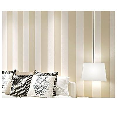 Wallpaper Modern Stripes Decal Textured Home Décor for Bedroom/Living Room/Kids Room (Shapes/Stripes)