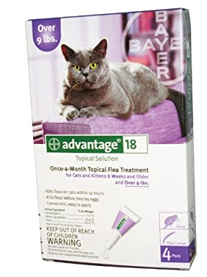 Advantage For Cats For Cats Over 9 Lbs 4ds4 Months by BAYER