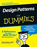 Design Patterns for Dummies, Steve Holzner, 0471798541