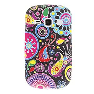 GJYColorful Pattern Silicagel Back Case for Samsung Galaxy S6810/S6818