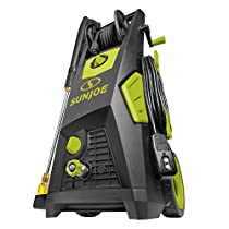 Snow Joe Sun Joe SPX3501 2300-PSI 1.48 GPM Brushless Induction Electric Pressure Washer w/Brass Hose Connector and Hose Reel