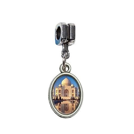 3832d7d3d6f44 India - Taj Mahal Italian European Euro Style Bracelet Charm Bead ...