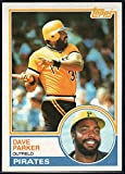 1983 Topps Baseball #205 Dave Parker Pittsburgh Pirates MLB Trading Card from Vending boxes (stock photos used) Near Mint or better condition Sharp C