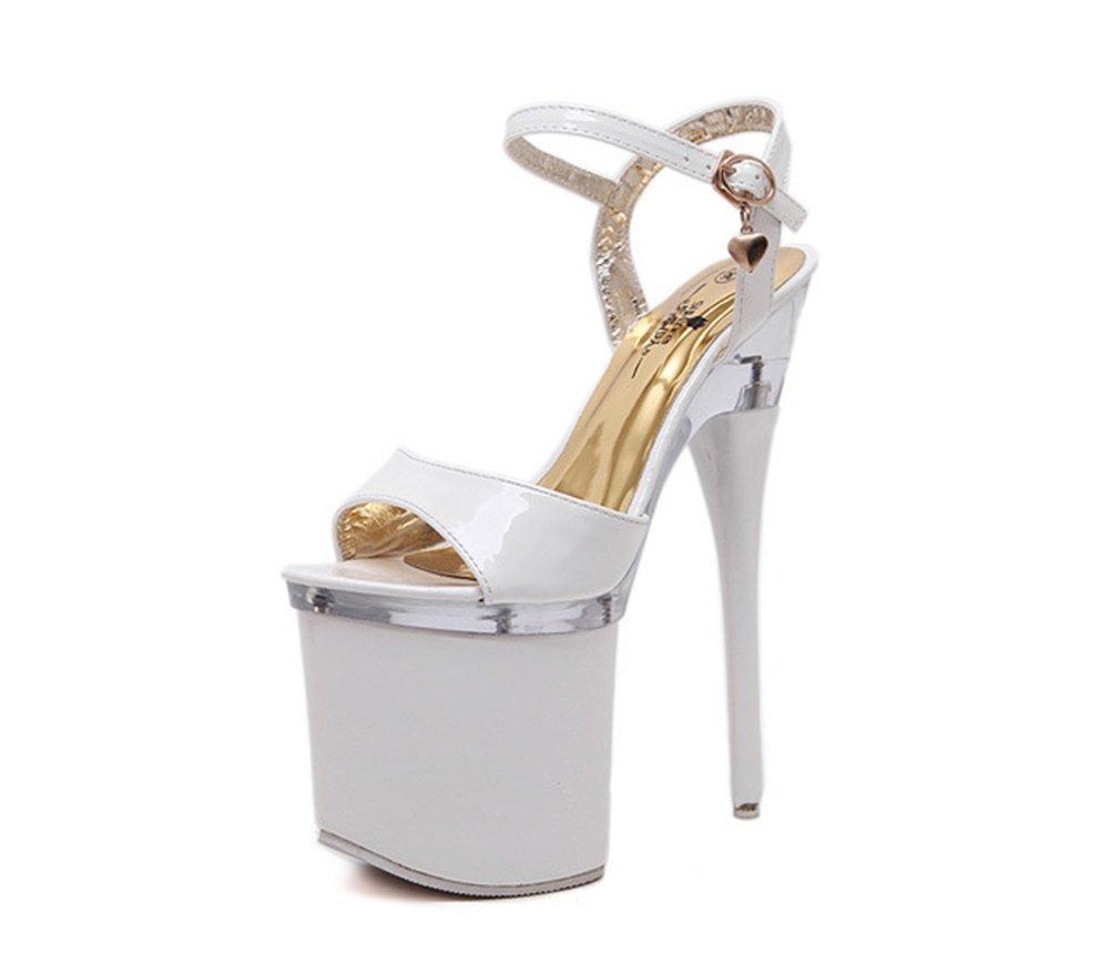 41-blanc HAOBAO HAOBAO Chaussures à Talons Hauts Chaussures de Femmes Sandales à Talons Hauts Sandales Femmes Chaussures de Travail Pole Dance Chaussures de Danse 34-42  sortie en vente