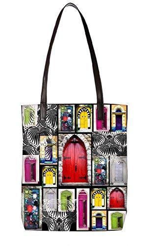Snoogg Strandtasche, mehrfarbig (mehrfarbig) - LTR-BL-359-ToteBag