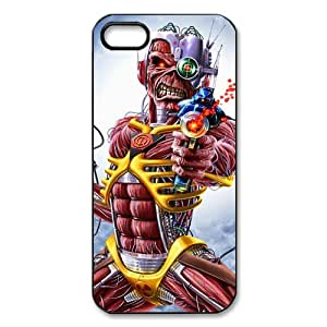 Music & Singer Iron maiden iPhone 5 Case Hard Back Cover Case for iPhone 5