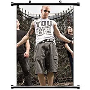 Home Decor Art Movie Poster with All That Remains T Shirts Tattoo Gate Daylight Wall Scroll Poster Fabric Painting 23.6 X 35.4 Inch (60cm X 90 cm)