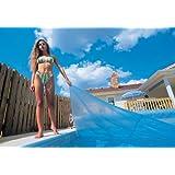 Blue Wave 12-Feet X 24-Feet Rectangular 12mm Solar Blanket for In-Ground Pools, Blue