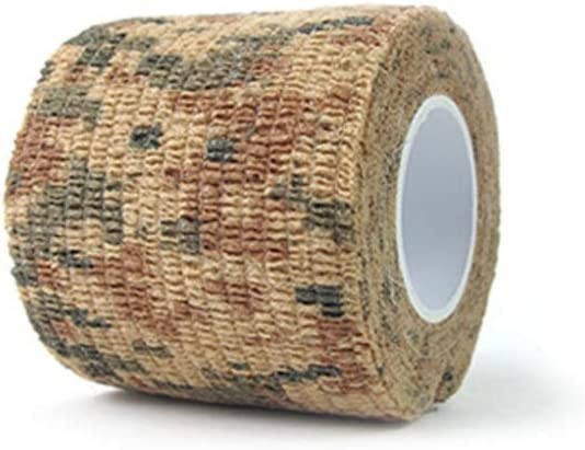 Asien 1 Roll Creative Self-Adhesive Bandage Tapes Durable Non-Woven Outdoor Camo Pattern Tapes ACU Style