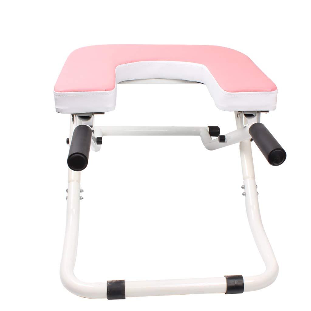 フィットネスヨガチェア反転テーブル、ヨガチェアヘッドスタンドベンチ、バランスのとれたボディヘッドスタンドベンチ理想的なチェア、オリジナルのBodyliftヘッドスタンド (色 : Pink)  Pink B07KG18GDT