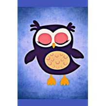 Owl Note Book: Journal for Girls