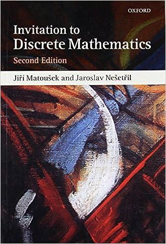 An invitation to discrete mathematics jiri matousek jaroslav an invitation to discrete mathematics 2nd edition fandeluxe Choice Image