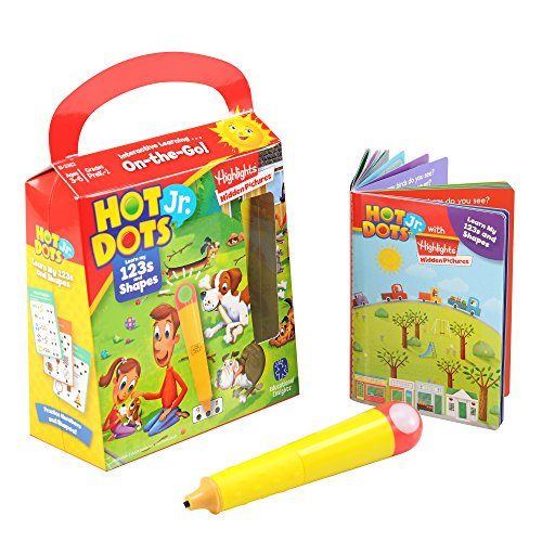 Educational Insights Hot Dots Jr. with Highlights On-The-Go! Learn My 123s
