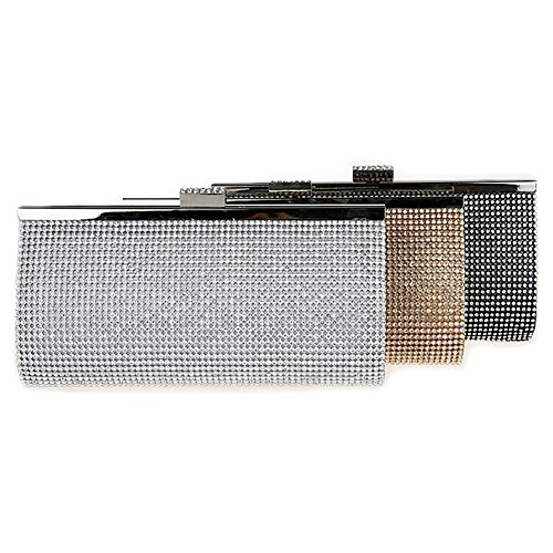 femme Pochette color clutch evening UNYU Noir Multi pour I8xUPRqw