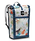 The North Face Homestead Waterproof Roadsoda Pack (Vintage White Sparse Mo Print/Shady Blue)