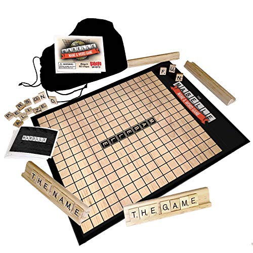 Mabelle Name & Word Board Game Gift, Personalized for Mabelle from Gaboyo
