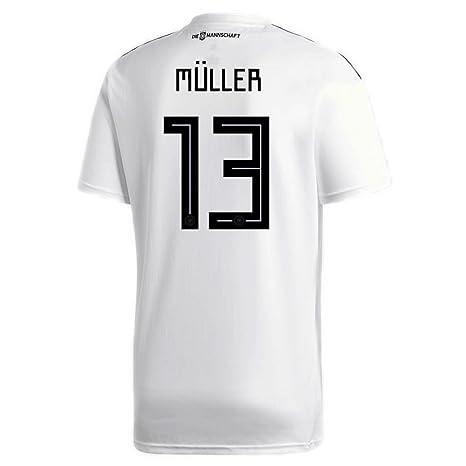 Adidas Muller - Camiseta de fútbol para Hombre (número 13 ...