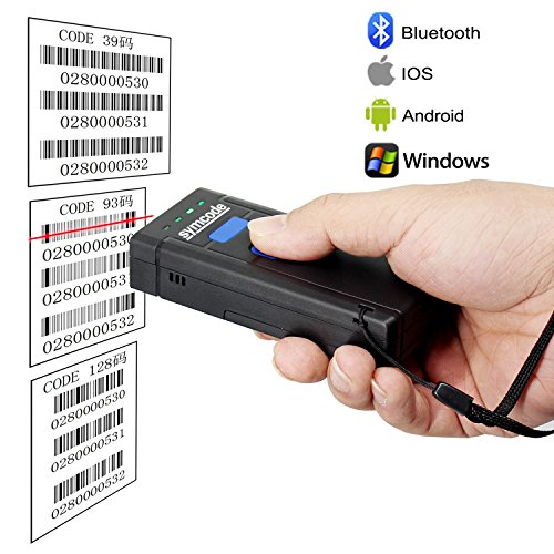 USB Bluetooth Barcode Scanner,Sy...