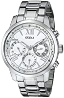 GUESS Women's U0330L3 Stainless Steel Wa...