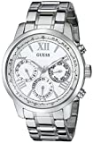 GUESS Women's Stainless Steel Classic Bracelet Watch, Color Silver-Tone (Model: U0330L3)