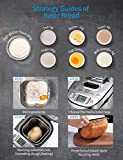 Bread Maker, [2020 Upgraded] 2LB Stainless Steel