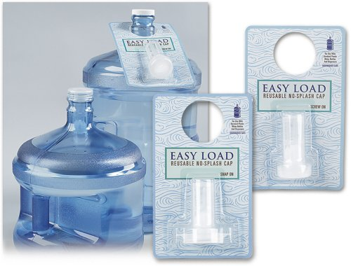 Easy Load Reusable No Splash Cap (Snap On) (5 Gallon Water Cooler Lid compare prices)