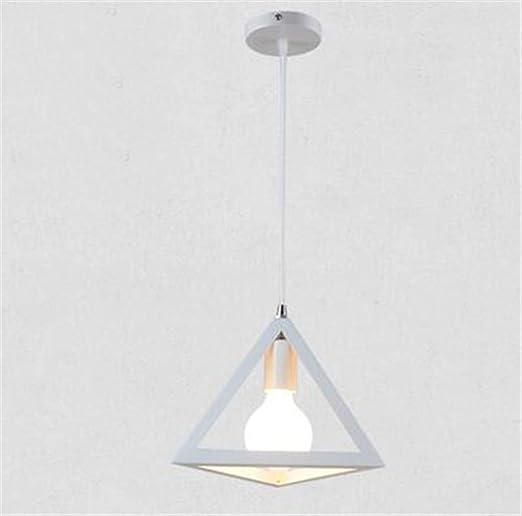 ZHIJINLI Retro Vintage Luces Colgantes LED lámpara Metal Cubo ...