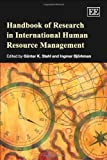 Handbook of Research in International Human Resource Management, Stahl, Günter K. and Björkman, Ingmar, 1845421280