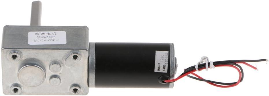 Almencla Motor Adaptado Para Silla De Ruedas Magnética De DC1212V. - Plata-1280-80rpm