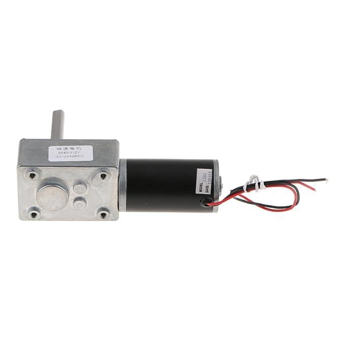 Almencla Motor Adaptado Para Silla De Ruedas Magnética De DC1212V. - Plata-1280-470rpm: Amazon.es: Bricolaje y herramientas