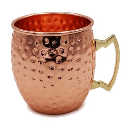 UPC 647166000101, Hammered Finish Moscow Mule Mug,100% Pure Copper/18oz (Set of 8 Mugs)