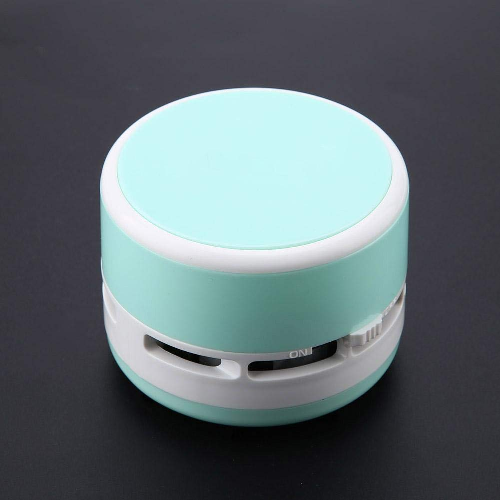 3 Colores Lindos inal/ámbricos Mini Escritorio Teclado Esquina Polvo aspiradora barredora