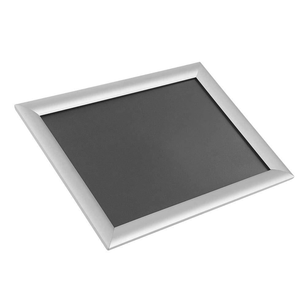 ristorante espositore per poster in alluminio per matrimonio colore: argento Esquina Recto esposizione Supporto da pavimento per poster A4 regolabile altezza e angolo