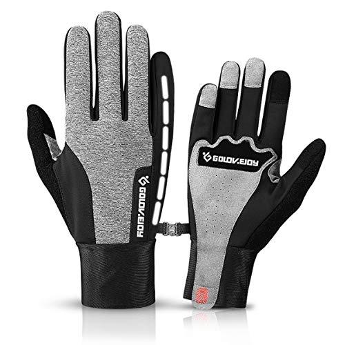 Neusky wasserdichter Touchscreen Handschuhe Winterhandschuhe Warme Handschuhe Sports Handschuhe Fahrradhandschuhe Laufhandschuhe für Damen und Herren