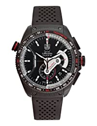 Tag Heuer Men's Grand Carrera Automatic Chronograph Dial Watch Black CAV5185.FT6020