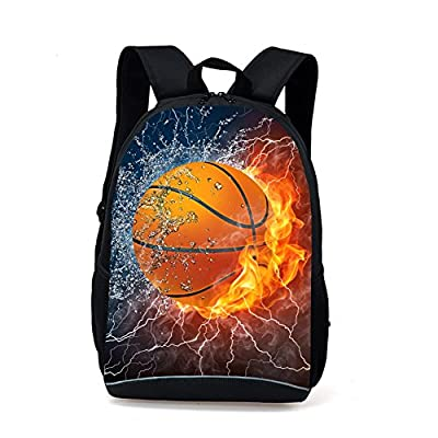 CARBEEN 17 Inch Ball Backpack Students Bookbag