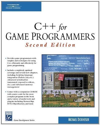 C++ for Game Programmers (Charles River Media Game Development) by Dickheiser, Mike 2nd (second) Revised Edition (2006) by Charles River Media