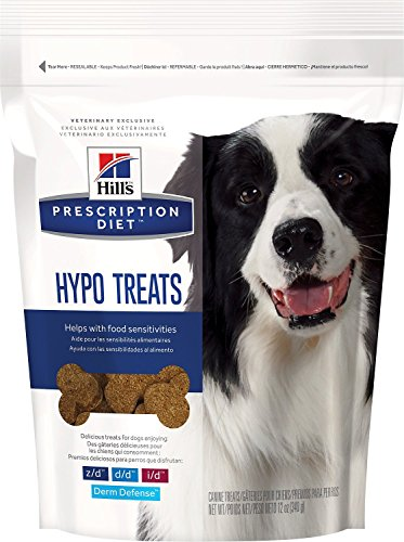 Hill's Prescription Diet Hypoallergenic Canine Treats - 12oz (12 Ounce Peanut Brittle)